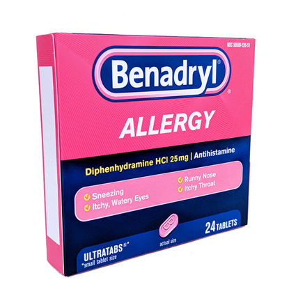Picture of Benadryl Allergy Tablets 24/Ct