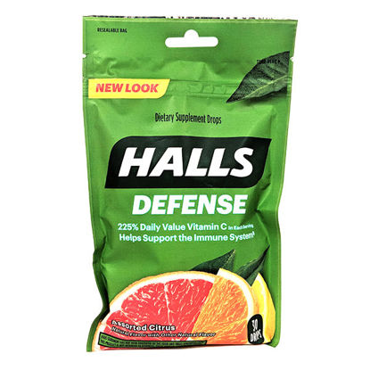 Picture of Halls Defense Assorted Citrus 30/Ct