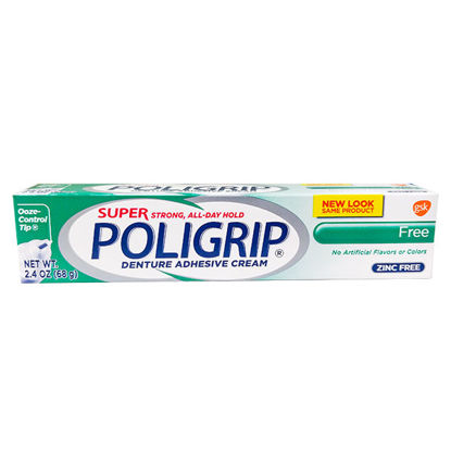 Picture of Poligrip Super SPG Free 2.4 oz.