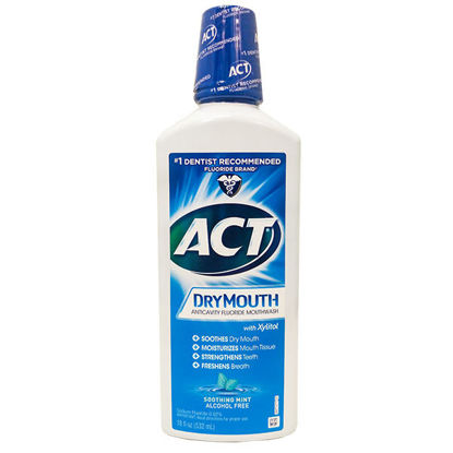 Picture of ACT Total Care Dry Mouth Rinse Mint 18 oz.