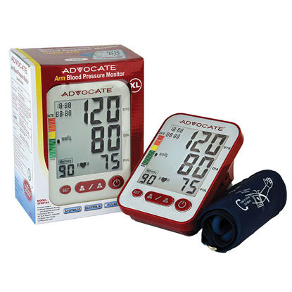 Picture of Advocate Blood Pressure Monitor XL Cuff Circumference: 12.6 in. - 20.5 in.