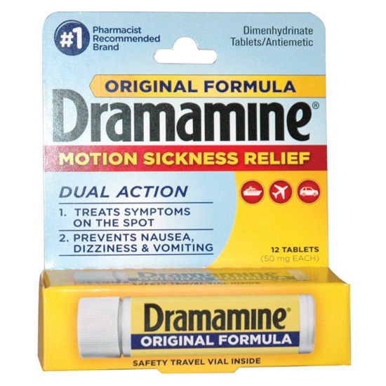Picture of Dramamine Tablets 12/Ct