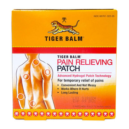 Picture of Tiger Balm Pain Relieving Patch 5/Ct