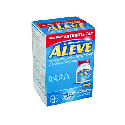 Picture of Aleve Easy Open Cap 220mg Gelcaps 40/Ct