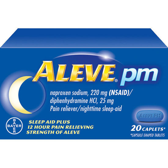 Picture of Aleve PM Caplets 220mg 20/Ct