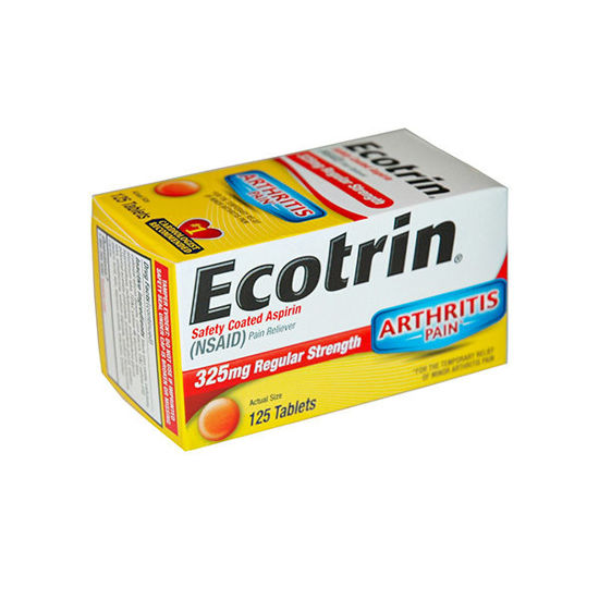 Picture of Ecotrin Tablets 325mg 125/Ct