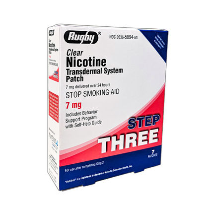 Picture of Nicotine Patch Step 3 - 7mg - 7/Ct