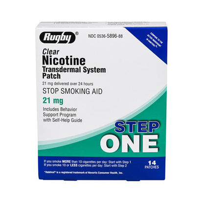 Picture of Nicotine Patches Step 1 - 21mg 14/Ct