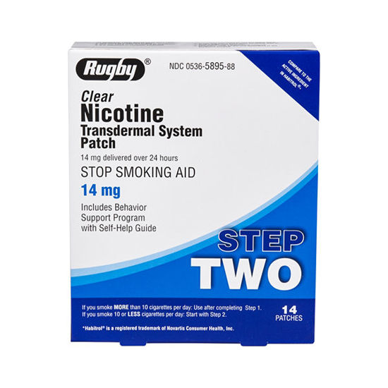 Picture of Nicotine Patches Step 2 - 14mg 14/Ct