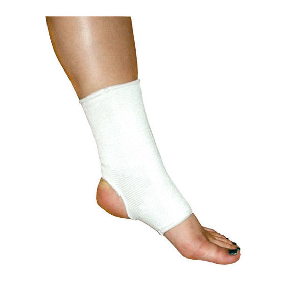 Picture of Procare Elastic Ankle Support Medium - This product contains latex