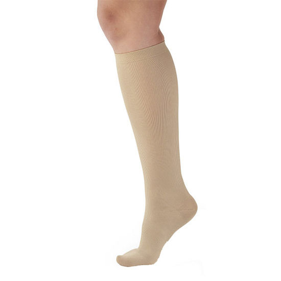 Picture of Womens Beige Light Support - Medium 15-20 mmHg
