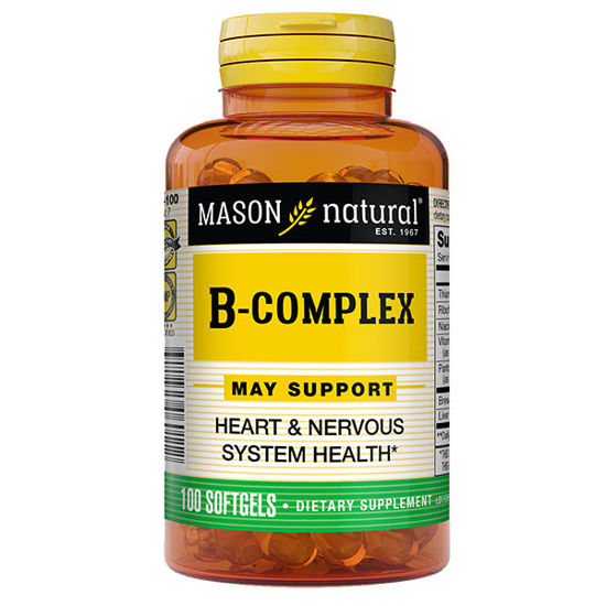 Picture of B-Complex Softgels 100/Ct