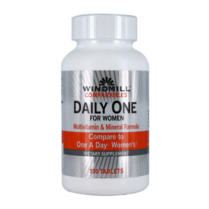 Picture of Daily One Multivitamin For Women 100/Ct
