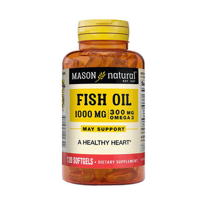 Picture of Fish Oil 1000mg Softgels 120/Ct - This product is NOT Cholesterol free