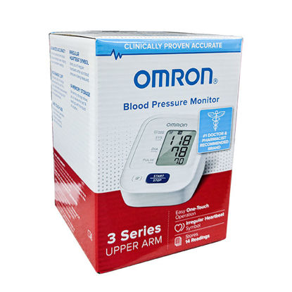 Picture of Omron Upper Arm Blood Pressure Monitor Cuff Circumference: 9 in. - 17 in.