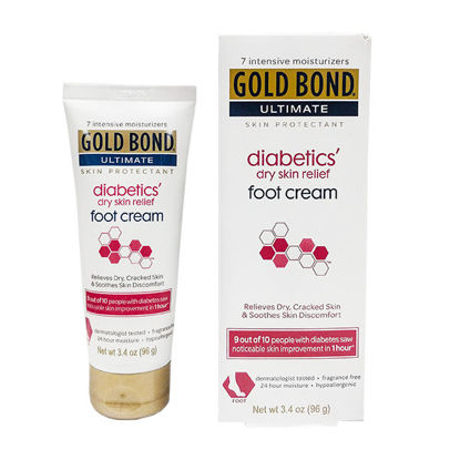Picture of Gold Bond Diabetic Foot Cream 3.4 oz.