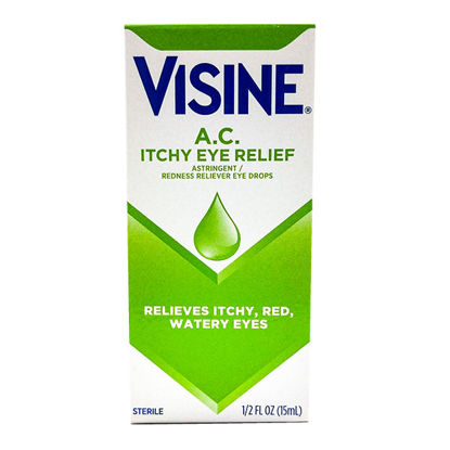 Picture of Visine A.C. Seasonal Itching 0.5 fl. oz.
