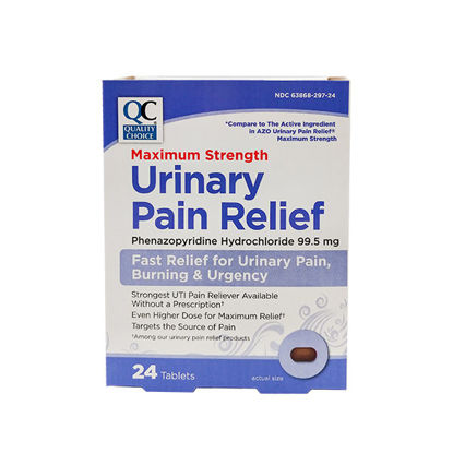 Picture of Urinary Pain Relief Max Strength Tablets 24/Ct