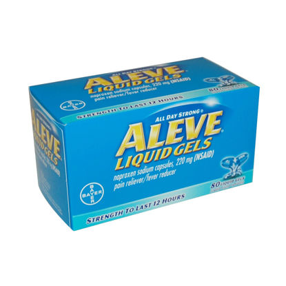 Picture of Aleve Liquid Gels 220mg 80/Ct