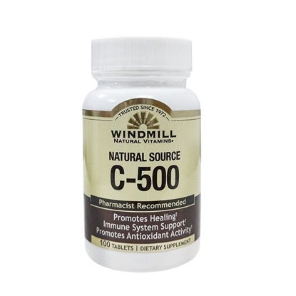 Picture of Vitamin C-500 Tablets 100/Ct